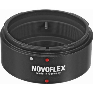 Novoflex Canon FD lens to Micro Four Thirds camera adaptor